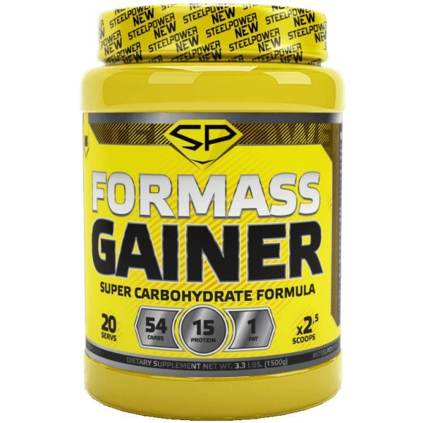 STEEL POWER FOR GAINER MASS (1.5 кг)