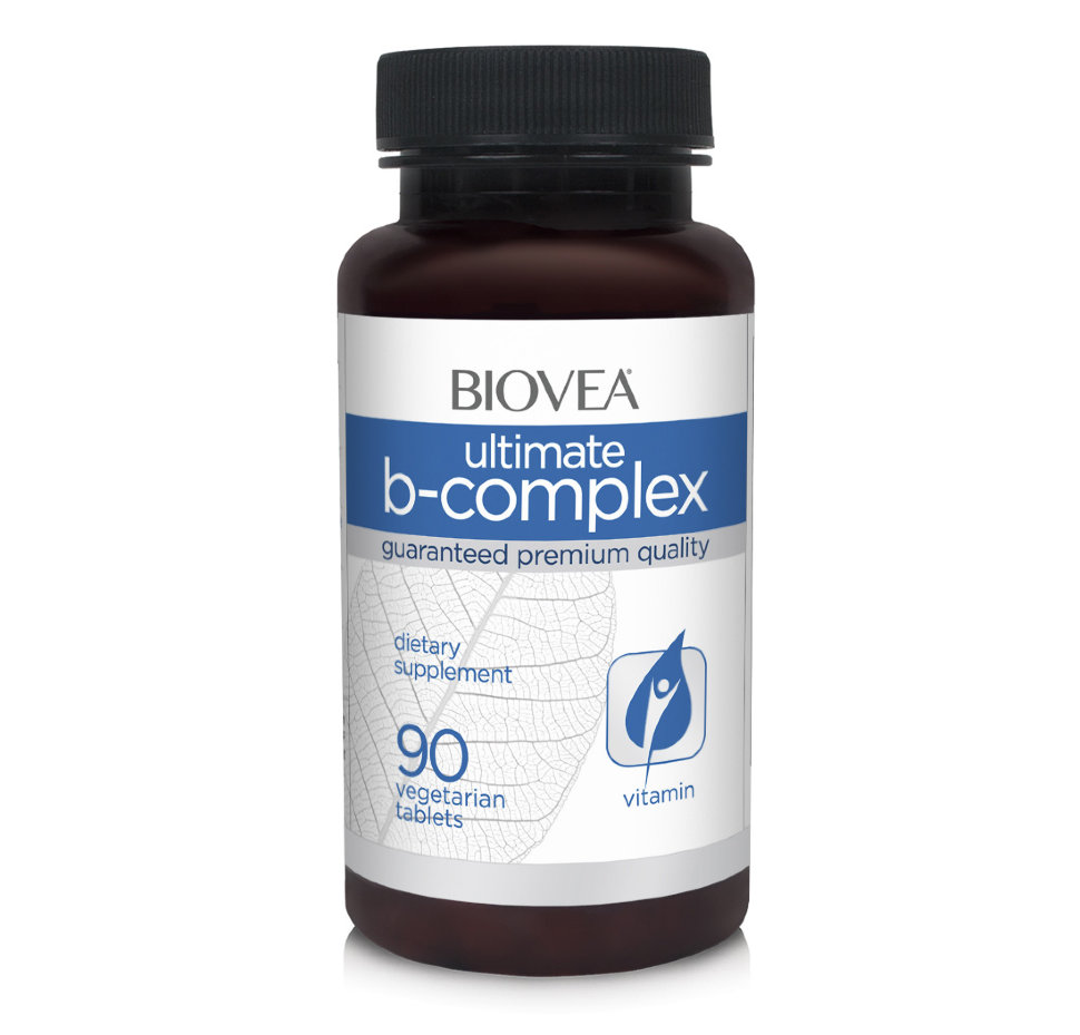 BIOVEA ULTIMATE B COMPLEX 500mg (90 Tab)