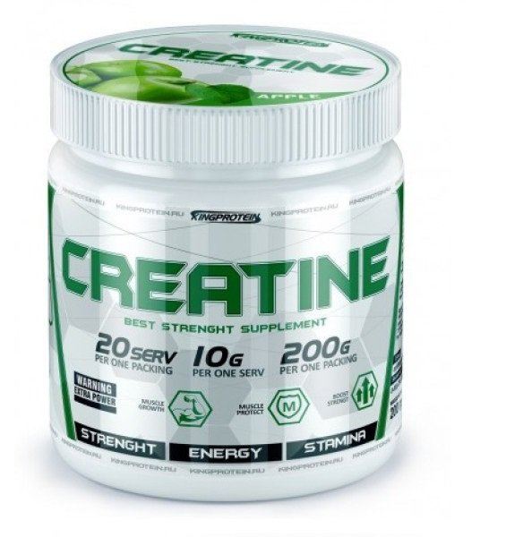 KING PROTEIN Creatine Monohydrate 200гр.
