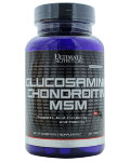 Ultimate Nutrition Glucosamine & Chondroitin & MSM (90 таб)