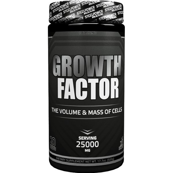 STEEL POWER Growth Factor 500гр.Black line