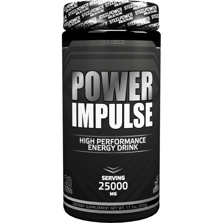 STEEL POWER POWER IMPULSE 500гр.Black line