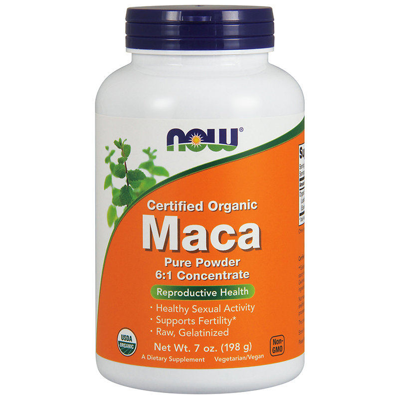NOW Maca 6:1 Concentrate (198гр) 73порции