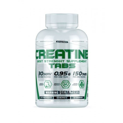 KING PROTEIN CREATINE TABS 150 таб.