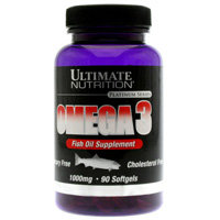 Ultimate Nutrition Omega 3 - 1000мг  (90капс)