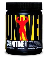 Universal Nutrition Carnitine Capsules (30 кап)