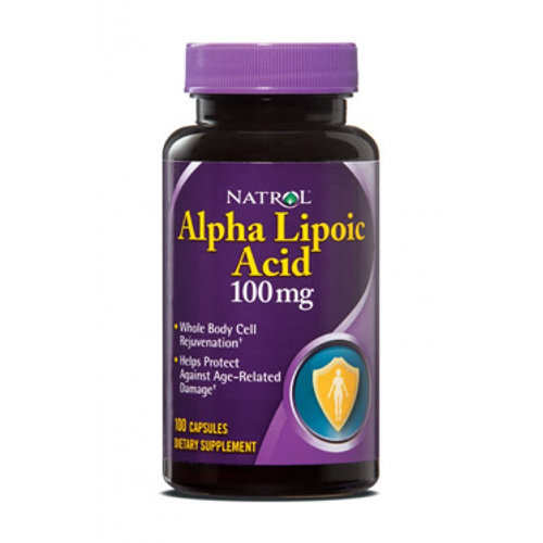 Natrol Alpha Lipoic Acid 100 mg (100 кап)