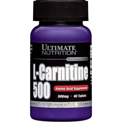 Ultimate Nutrition L-Carnitine 500  (60 таб)