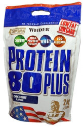 Weider Protein 80  PLUS  2000гр(пакет)