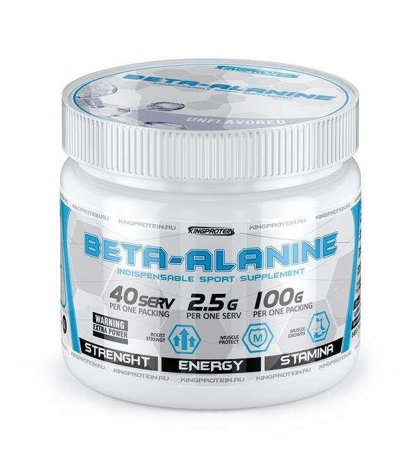 KING PROTEIN Beta-alanine 100гр.